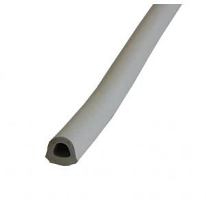 Уплотнитель самоклеящийся D-профиль 9х7,5мм серый