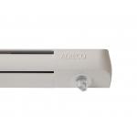 Комплект: приточный клапан EMM  + козырек ASAM, EHM1282 RU, белый