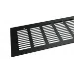 Вентиляционная решетка Tundra 500х100 мм черная