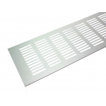 Вентиляционная решетка Tundra 500х100 мм светло-серебристая
