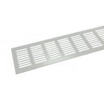 Вентиляционная решетка Tundra 800х80 мм белая