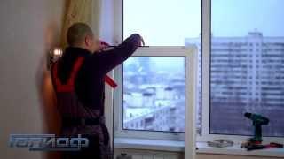 Как заменить резину на окне