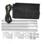 Комплект для сборки стандартной рамочной москитной сетки, полотно фибергласс