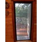Раздвижная дверная система Плиссе - комплект для сборки москитной сетки на дверь