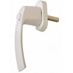 Ручка оконная с кнопкой Internika Интерника 35мм, цвет белый