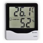 Цифровой электронный термометр - гигрометр ТЕ-803 с большим экраном