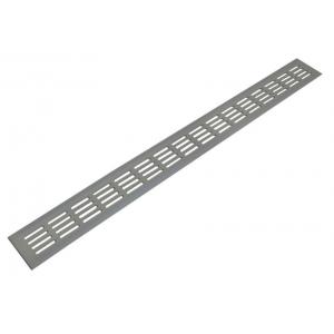 Решетка для подоконника Werzalit Верцалит 80х800 мм серебристая